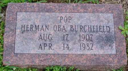 "BURCHFIELD, HERMAN OBA ""POP"" - Desha County, Arkansas 