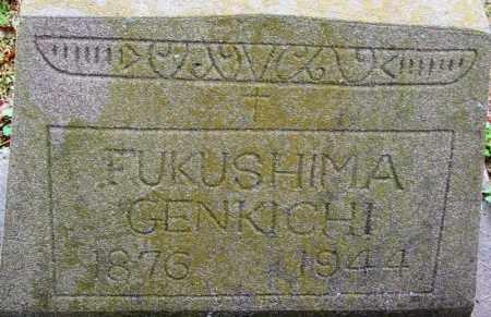 GENKICHI, FUKUSHIMA - Desha County, Arkansas | FUKUSHIMA GENKICHI - Arkansas Gravestone Photos