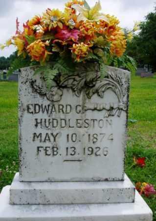 HUDDLESTON, EDWARD G. - Desha County, Arkansas   EDWARD G. HUDDLESTON - Arkansas Gravestone Photos