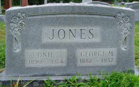 JONES, GEORGE M. - Desha County, Arkansas | GEORGE M. JONES - Arkansas Gravestone Photos