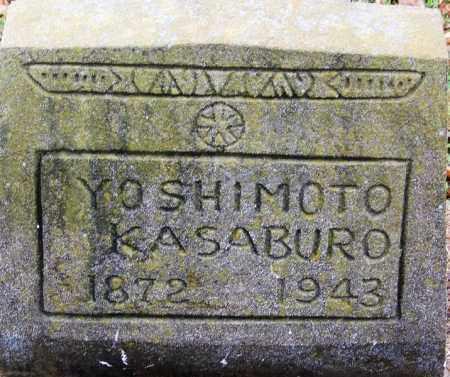 YOSHIMOTO, KASABURO - Desha County, Arkansas | KASABURO YOSHIMOTO - Arkansas Gravestone Photos