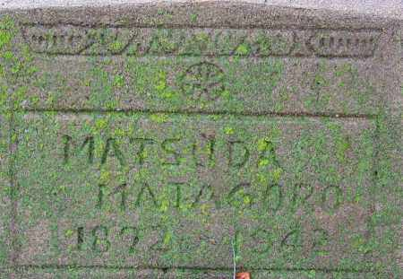 MATSUDA, MATAGORO - Desha County, Arkansas | MATAGORO MATSUDA - Arkansas Gravestone Photos