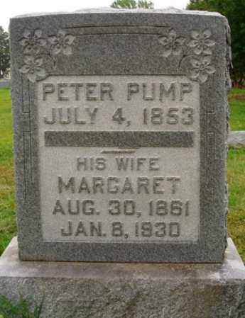 PUMP, MARGARET - Desha County, Arkansas | MARGARET PUMP - Arkansas Gravestone Photos