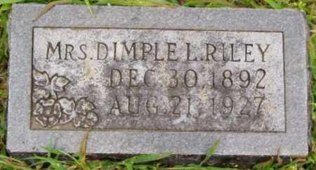 RILEY, DIMPLE L - Desha County, Arkansas | DIMPLE L RILEY - Arkansas Gravestone Photos