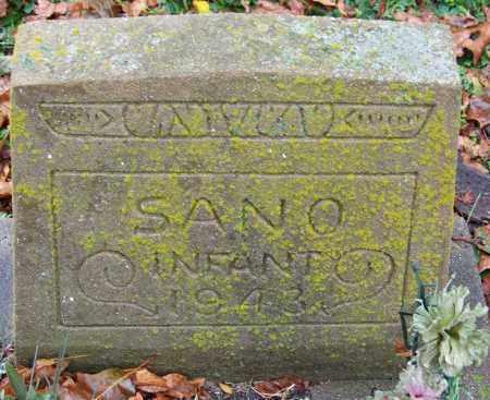 SANO, INFANT - Desha County, Arkansas | INFANT SANO - Arkansas Gravestone Photos