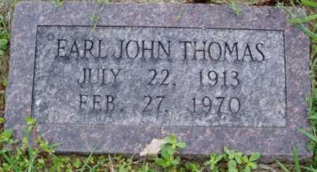 THOMAS, EARL JOHN - Desha County, Arkansas | EARL JOHN THOMAS - Arkansas Gravestone Photos