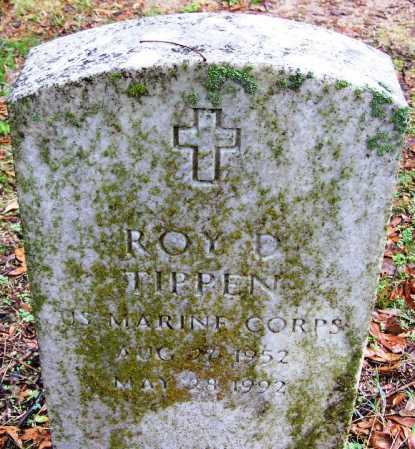 TIPPEN (VETERAN), ROY D - Desha County, Arkansas | ROY D TIPPEN (VETERAN) - Arkansas Gravestone Photos