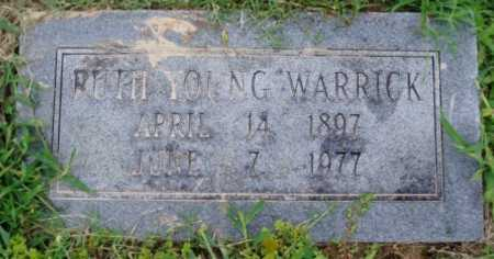 YOUNG WARRICK, RUTH - Desha County, Arkansas | RUTH YOUNG WARRICK - Arkansas Gravestone Photos