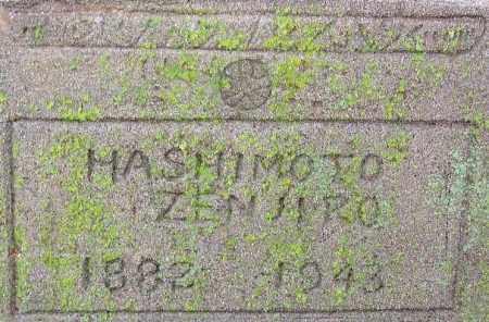 HASHIMOTO, ZENJIRO - Desha County, Arkansas | ZENJIRO HASHIMOTO - Arkansas Gravestone Photos