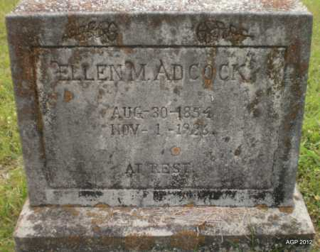 ADCOCK, ELLEN M - Drew County, Arkansas | ELLEN M ADCOCK - Arkansas Gravestone Photos