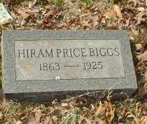 BIGGS, HIROM PRICE - Drew County, Arkansas | HIROM PRICE BIGGS - Arkansas Gravestone Photos