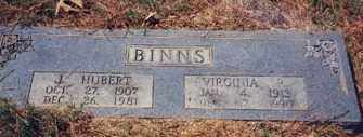 BINNS, VIRGINIA R - Drew County, Arkansas | VIRGINIA R BINNS - Arkansas Gravestone Photos
