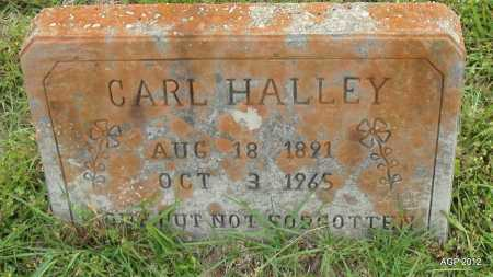 HALLEY, CARL - Drew County, Arkansas | CARL HALLEY - Arkansas Gravestone Photos