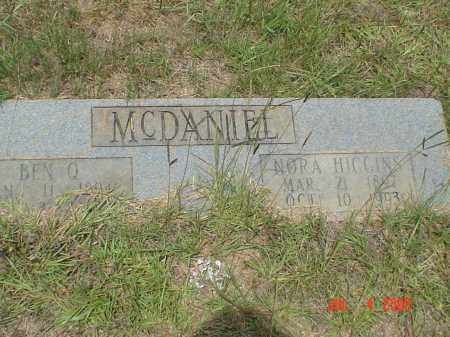 HIGGINS MCDANIEL, ELNORA - Drew County, Arkansas | ELNORA HIGGINS MCDANIEL - Arkansas Gravestone Photos