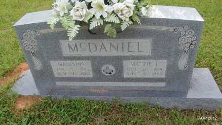 WILSON MCDANIEL, MATTIE LAURA - Drew County, Arkansas | MATTIE LAURA WILSON MCDANIEL - Arkansas Gravestone Photos