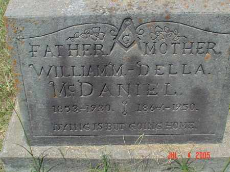 THOMPSON MCDANIEL, MARIAN DELLA - Drew County, Arkansas | MARIAN DELLA THOMPSON MCDANIEL - Arkansas Gravestone Photos