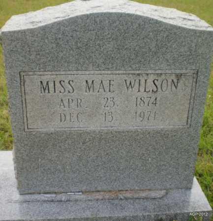 WILSON, MAE FRANCIS - Drew County, Arkansas | MAE FRANCIS WILSON - Arkansas Gravestone Photos