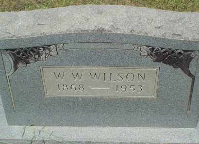 WILSON, WILLIAM WADE - Drew County, Arkansas | WILLIAM WADE WILSON - Arkansas Gravestone Photos