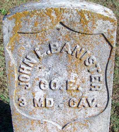 BANISTER (VETERAN UNION), JOHN LEWIS - Faulkner County, Arkansas | JOHN LEWIS BANISTER (VETERAN UNION) - Arkansas Gravestone Photos