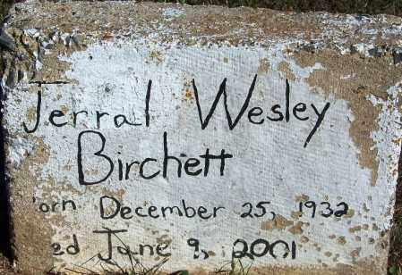 BIRCHETT, JERRAL WESLEY - Faulkner County, Arkansas | JERRAL WESLEY BIRCHETT - Arkansas Gravestone Photos