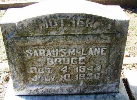 BRUCE, SARAH S. - Faulkner County, Arkansas | SARAH S. BRUCE - Arkansas Gravestone Photos