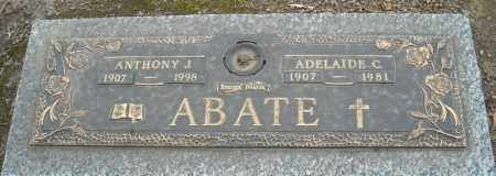 ABATE, ANTHONY J. - Faulkner County, Arkansas | ANTHONY J. ABATE - Arkansas Gravestone Photos