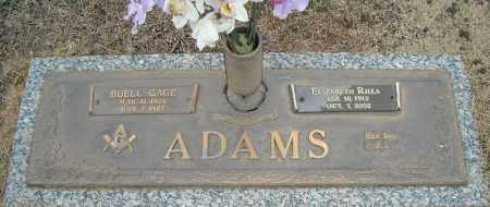 ADAMS, BUELL GAGE - Faulkner County, Arkansas | BUELL GAGE ADAMS - Arkansas Gravestone Photos