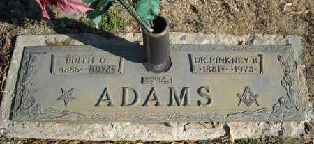 ADAMS, DR., PINKNEY B. - Faulkner County, Arkansas | PINKNEY B. ADAMS, DR. - Arkansas Gravestone Photos