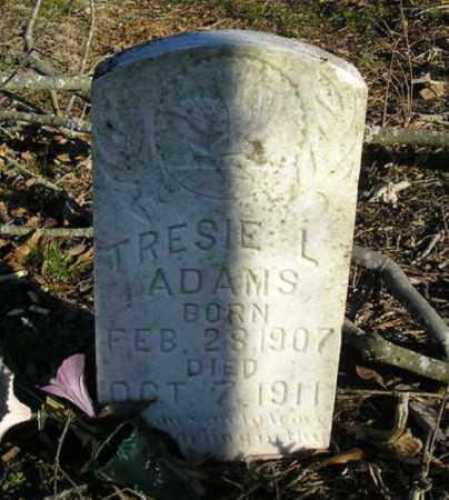 ADAMS, TRESIE L. - Faulkner County, Arkansas | TRESIE L. ADAMS - Arkansas Gravestone Photos