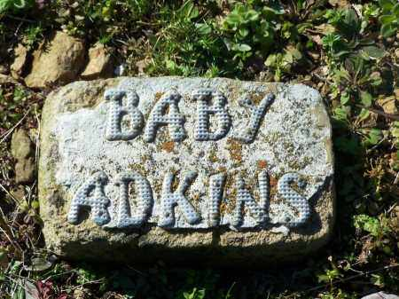ADKINS, BABY - Faulkner County, Arkansas   BABY ADKINS - Arkansas Gravestone Photos