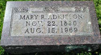 ADKISSON, MARY R. - Faulkner County, Arkansas | MARY R. ADKISSON - Arkansas Gravestone Photos