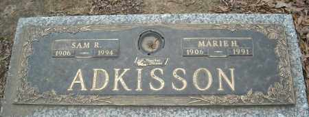 ADKISSON, MARIE H. - Faulkner County, Arkansas | MARIE H. ADKISSON - Arkansas Gravestone Photos