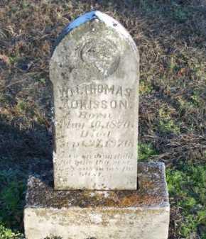 ADKISSON, WILLIAM THOMAS - Faulkner County, Arkansas | WILLIAM THOMAS ADKISSON - Arkansas Gravestone Photos