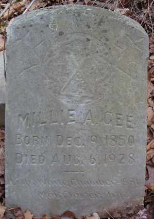 AGEE, MILLIE - Faulkner County, Arkansas | MILLIE AGEE - Arkansas Gravestone Photos