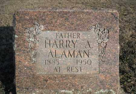 ALAMAN, HARRY A. - Faulkner County, Arkansas | HARRY A. ALAMAN - Arkansas Gravestone Photos