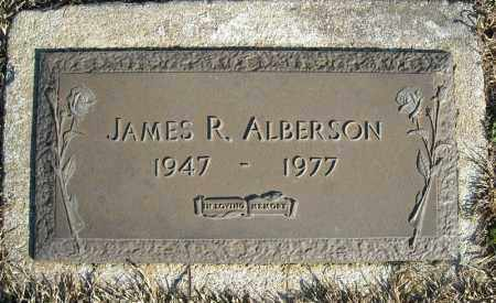 ALBERSON, JAMES R. - Faulkner County, Arkansas | JAMES R. ALBERSON - Arkansas Gravestone Photos