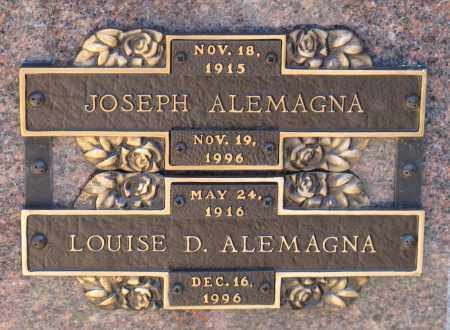 ALEMAGNA, LOUISE D. - Faulkner County, Arkansas | LOUISE D. ALEMAGNA - Arkansas Gravestone Photos