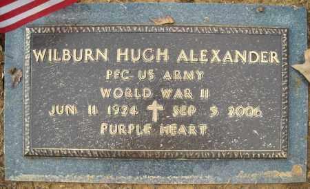 ALEXANDER (VETERAN WWII), WLIBURN HUGH - Faulkner County, Arkansas | WLIBURN HUGH ALEXANDER (VETERAN WWII) - Arkansas Gravestone Photos