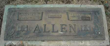 ALLEN, FRANCIS M. - Faulkner County, Arkansas | FRANCIS M. ALLEN - Arkansas Gravestone Photos