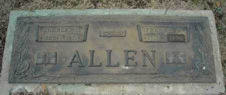 ALLEN, CHARLEY L. - Faulkner County, Arkansas | CHARLEY L. ALLEN - Arkansas Gravestone Photos