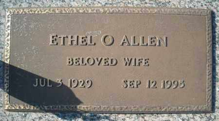 ALLEN, ETHEL O. - Faulkner County, Arkansas | ETHEL O. ALLEN - Arkansas Gravestone Photos