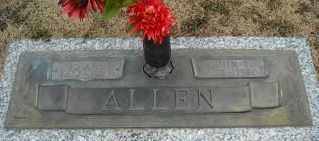 ALLEN, JO ANN - Faulkner County, Arkansas | JO ANN ALLEN - Arkansas Gravestone Photos