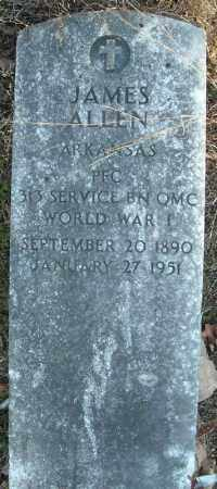 ALLEN (VETERAN WWI), JAMES - Faulkner County, Arkansas | JAMES ALLEN (VETERAN WWI) - Arkansas Gravestone Photos