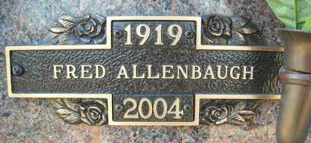 ALLENBAUGH, FRED - Faulkner County, Arkansas | FRED ALLENBAUGH - Arkansas Gravestone Photos