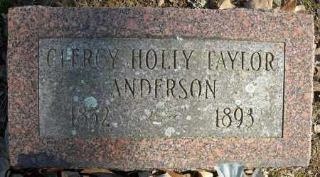 TAYLOR ANDERSON, CLERCY HOLLY - Faulkner County, Arkansas | CLERCY HOLLY TAYLOR ANDERSON - Arkansas Gravestone Photos