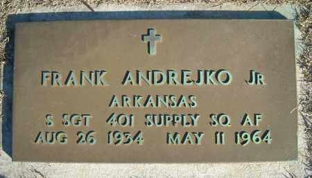 ANDREJKO, JR (VETERAN), FRANK - Faulkner County, Arkansas | FRANK ANDREJKO, JR (VETERAN) - Arkansas Gravestone Photos