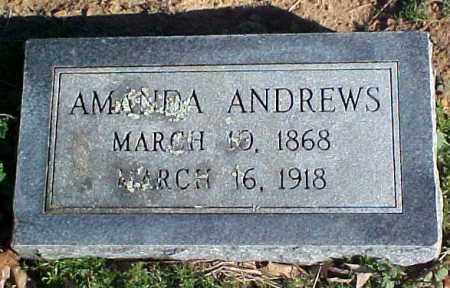 HUNT ANDREWS, AMANDA - Faulkner County, Arkansas | AMANDA HUNT ANDREWS - Arkansas Gravestone Photos