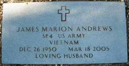 ANDREWS (VETERAN VIET), JAMES MARION - Faulkner County, Arkansas | JAMES MARION ANDREWS (VETERAN VIET) - Arkansas Gravestone Photos