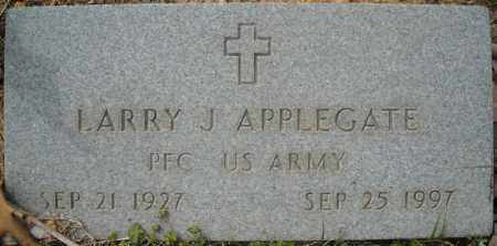 APPLEGATE (VETERAN), LARRY JAVAN - Faulkner County, Arkansas | LARRY JAVAN APPLEGATE (VETERAN) - Arkansas Gravestone Photos