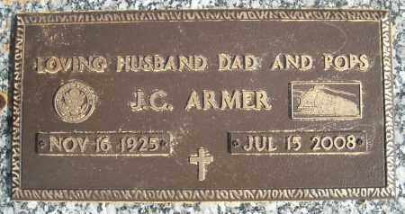 ARMER (VETERAN), J C - Faulkner County, Arkansas | J C ARMER (VETERAN) - Arkansas Gravestone Photos